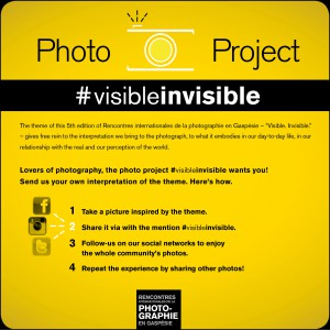 Project Photo #visibleinvisible #photogaspesie
