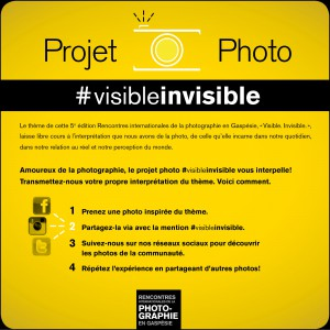 Projet photo #visibleinvisible #photogaspesie